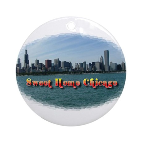 Sweet Home Chicago Ornament (Round)