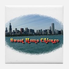Sweet Home Chicago Tile Coaster