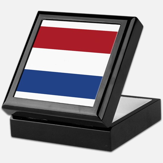 Flag of the Netherlands Keepsake Box