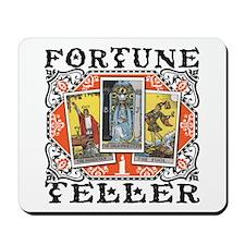 Fortune Teller orange Mousepad