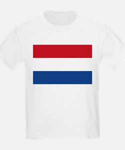 Flag of the Netherlands Kids T-Shirt
