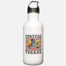 Fortune Teller orange Sports Water Bottle