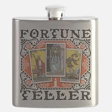 Fortune Teller orange Flask