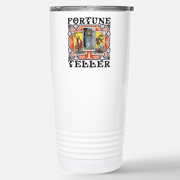 Fortune Teller orange Travel Mug