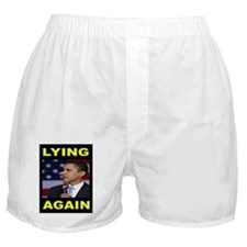 LYING PRESIDENT Boxer Shorts