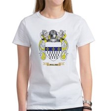 Polini Coat of Arms (Family Crest) T-Shirt