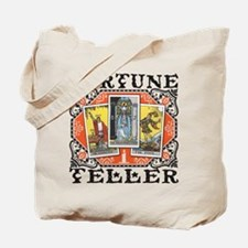 Fortune Teller orange Tote Bag