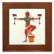 Chango Framed Tile