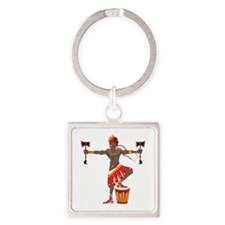Chango Square Keychain