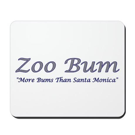 Zoo Bum Blue/Grey Mousepad