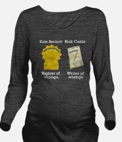 Castle Chance of Asskicking Long Sleeve Maternity