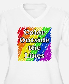 Color Outside the T-Shirt