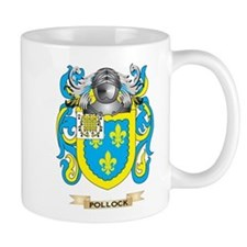 Pollock Coat of Arms (Family Crest) Mugs
