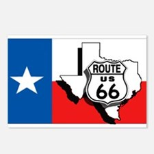 Rt 66 Texas Postcards (Package of 8)