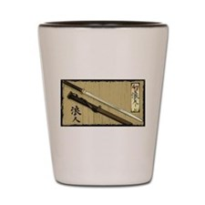 The Blade of the 47 Ronin Shot Glass