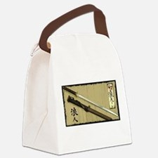 The Blade of the 47 Ronin Canvas Lunch Bag