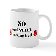50 still raising hell 2 Mugs