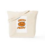Orange Monay Tote Bag