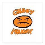 Orange Monay Square Car Magnet 3