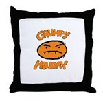 Orange Monay Throw Pillow