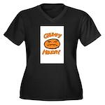 Orange Monay Plus Size T-Shirt
