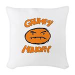 Orange Monay Woven Throw Pillow