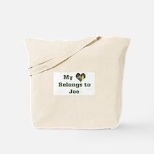 Joe: My Heart Tote Bag