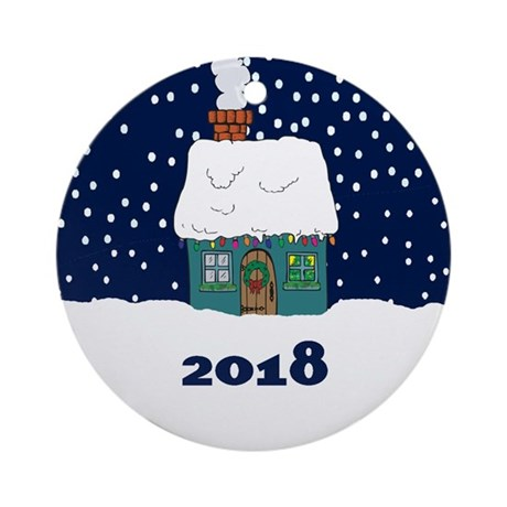 Personalized Engagement Christmas Ornaments