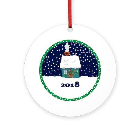 Christmas Ornament 2018 By Sparetimedesign