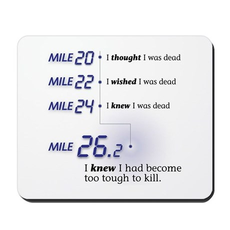 Too Tough To Kill Mousepad