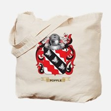 Popple Coat of Arms (Family Crest) Tote Bag