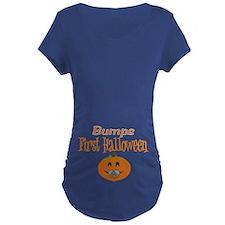 Babys First Halloween Maternity T-Shirt