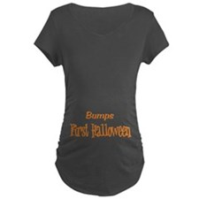 Bumps First Halloween Maternity T-Shirt