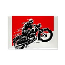 Vintage Motorcycle Racing Magnets