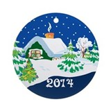 Christmas 2014 Round Ornaments
