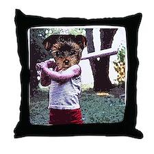 lil'slugger Throw Pillow