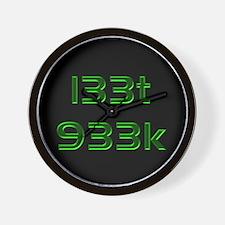 l33t 933k Wall Clock
