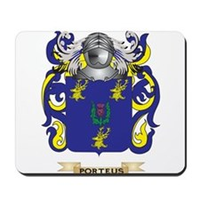Porteus Coat of Arms (Family Crest) Mousepad