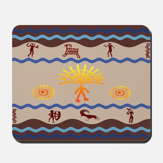 Spirit Path Rock Art Mousepad