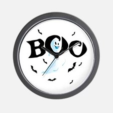 Ghost Boo Wall Clock