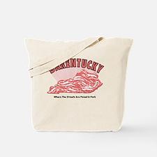Bacon + Kentucky = Bakentucky Tote Bag