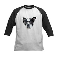 Boston terrier glasses Tee
