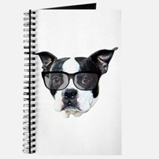 Boston terrier glasses Journal
