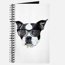 Boston terrier glasses Journal
