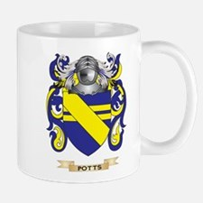 Potts Coat of Arms (Family Crest) Mugs