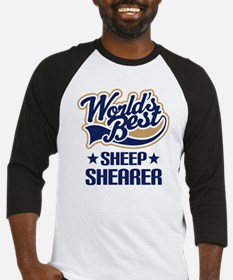 Sheep Shearer (Worlds Best) Baseball Jersey
