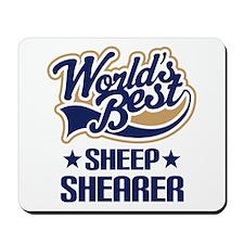 Sheep Shearer (Worlds Best) Mousepad