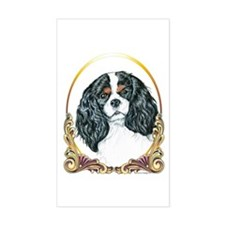 Cavalier King Charles Spaniel Gold Decal