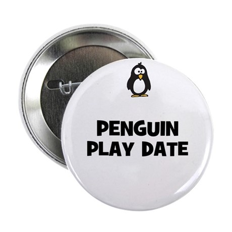 """penguin play date 2.25"""" Button (10 pack)"""