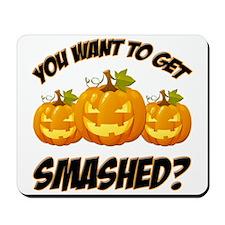 Smashed Happy Halloween Mousepad
